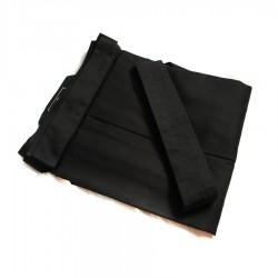 Iaido Deluxe Hakama ( Black / white )