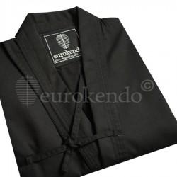 Iaido Deluxe Gi ( Black / White )
